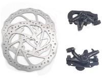 Tektro novela line mechanical disc brake disc 160mm set black