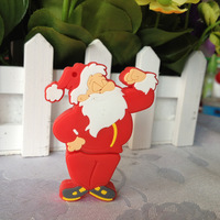 pendrive santa claus gift cartoon 4gb/8gb/16gb/32gb christmas flash drive Memory Stick pen drive usb flash drive Free shipping