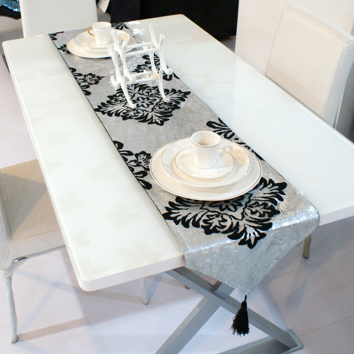 Shop Popular Modern Table Mats from China Aliexpress : Small silver fashion font b table b font runner fashion luxury brief dining font b table from www.aliexpress.com size 700 x 700 jpeg 153kB