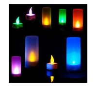 Free shipping 6pcs/lot Creative Toys Full House Sound candle colorful candle lamp