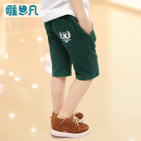 Sunfed children's clothing child summer male 2013 child thin shorts child casual knee-length pants capris