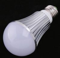Free shipping 20pcs/lot 5W 7W Ultra Bright Warm White LED bulb lamp, E27 LED Bulb, Bedroom lighting