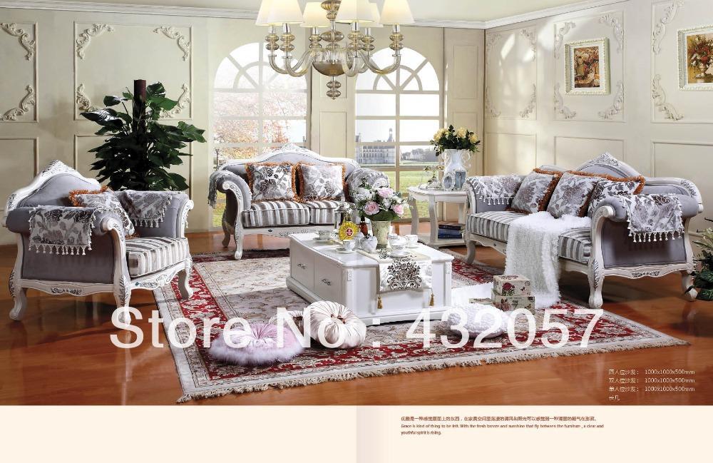 European Style Sofa Set Living Room