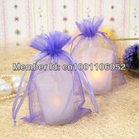 "Free Shipping--100pcs Lavender (4""x6"") 10*15cm Sheer Organza Bags Wedding Favor Supplies Gift/Candy Bag"