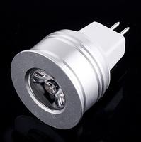 Free shipping 10pcs/lot 1W Warm White LED bulb lamp, GU5.3 LED Bulb, living room light
