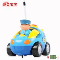 Remote control car toy car cartoon police car electric remote control car remote control toy car model