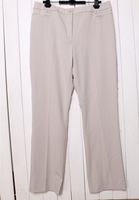 2013 New Women's Plus Size OL Style Simple Design Pure Pants Beige/Black CS13062201