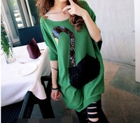 Autumn maternity sweater new arrival 2013 sweater loose plus size sweater maternity top 8809