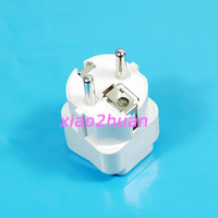 Free Shipping 5pcs/lot N US to EU Travel Home AC Power Plug Adapter Converter