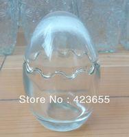 Glass egg cup transparent glass gift star bottle wishing bottle glass bottle
