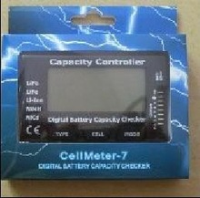 Free shipping Cellmeter 7 test 2 7S battery capacity and voltage for Lipo NiCD NiMH Batteries