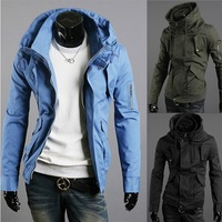free shipping New winter men's British style Slim Jacket Hot Specials hot selling NZ41 FY