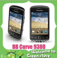 Refurbished BlackBerry Curve 9380 original phone 5.0MP Camera 3.2 inch Touch Screen GPS WIFI Quad band phone