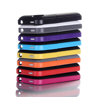 15PCS/LOT High Capacity 2000mAh Backup Power Bank External Battery Charger Case Holder for Apple iPhone 4S 4 Cellphone