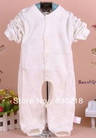 Free Shipping  QW72  English open files cotton baby Romper climbing clothes