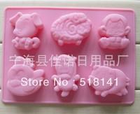 Min order $15 (mix order) Free shipping dog shape Muffin Sweet Candy Jelly fondant Cake chocolate Mold Baking Pan