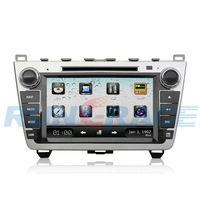 "Car DVD GPS for Mazda 6 2009, 2din 8"" ,with Bluetooth,Radio,support DVR,Camera, Free shipping"