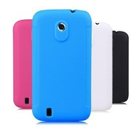 Soft TPU Gel Back Case Cover for ZTE Blade 3 III ZTE V889M +Free Film Screen Protector+Free Stylus