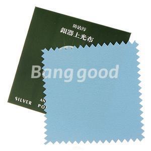 5pcs Anti Tarnish Silver Polishing Cleaning Cloth Cleaner Platinum Jewelry(China (Mainland))