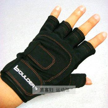 HOT SALE Tennis ball fitness snooker gloves sports gloves ride wear-resistant semi-finger 203 slip-resistant gloves