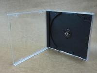 FREE SHIPPING Quality 5 PCs Hard Plastic CD VCD DVD Case Holder Bag Box