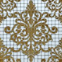 Crystal Glass Puzzle Mosaic Mirror sheets Pattern Design art Bathroom Wall Tiles Kitchen Backsplash Shower Floor Tile H057