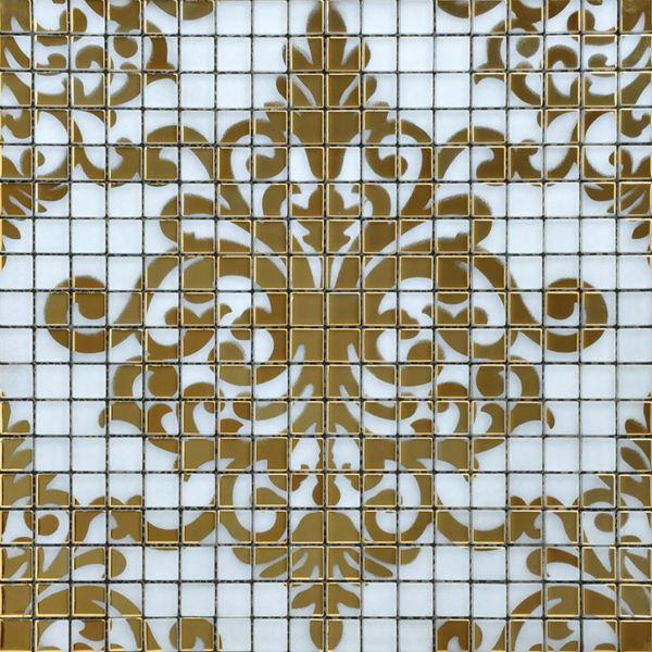 퍼즐 크리스탈 유리 모자이크 타일 패턴 디자인 거울 시트 예술 ...