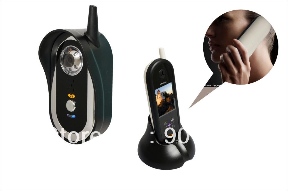 "2,5"" hand geben wireless digital video türsprechanlage haustelefon"
