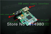 Stereo Bluetooth audio receiver / receiver board / receiver module / audio speaker amplifier dedicated DIY