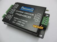 Economic Shipping PX24506 DMX Decoder Driver RGB Amplifier Controller For 5050 3528 RGB LED Light 12-24V