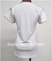 Free Shipping  2013 best Thai Real Madrid Women's shorts Soccer Shirts sportswear women one of piece the football shirt ronaldo