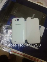 lot Original protective case cover for Feiteng 5.0inch H9500 (S4) mtk6589 Quad Cord white black color-- free shipping