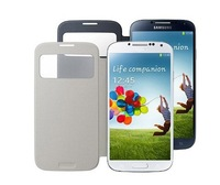 Open Window Official S View Flip Leather Case Cover for Samsung Galaxy S4 SIV i9500