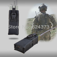 Military Army Molle PRC 148 MBITR Radio Pouch Walkie Talkie Pocket Black/SWAT