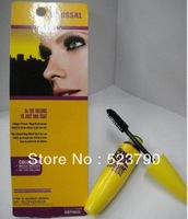 12pcs/lot Brand Mascara Volume Express Colo SSAL Mascara, with Collagen, black, Mega Brush 9.2 ml FREE CHINA POST SHIPPING