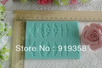2015 New Free Shipping Fondant Cake Decorating Tools 3D Silicone Mold Fondant Kitchen Bakeware Cooking Tools Sugar Craft Tools