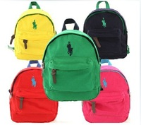 2014 New kids backpack Boy Girl High quality backpack Anti-lost baby bag children school bags 5 color options Retail