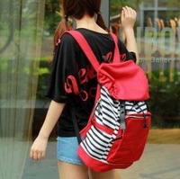 Free shipping Preppy fashionable book bags unisex canvas bags rucksacks for girls cute cheap backpacks