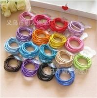 New Colorful Children Baby Girls Elastic Hair bands Rubber Band Hair Rope Hongkong Post Free Shipping