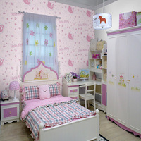hot sale 0.53*10.05m wallpaper for living room baby wallpaper