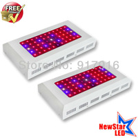 Free Shipping 2pcs/set High Power LED Grow Lights 55x3w