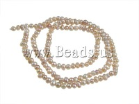 Free shipping!!!Baroque Cultured Freshwater Pearl Beads,2013 Fashion Jewelry, Round, 2-3mm, Hole:Approx 0.5mm, Length:15 Inch