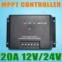 MPPT 20A 12V Solar Panels PV Battery Charge Controller Regulator
