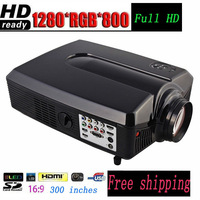 Kenitoo HD188 projector 1280*800 andriod 4.2  LED HD projector for home theatre support TV Wifi  2600 lumens brightness video