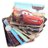 Wooden car puzzle, children puzzle jigsaw puzzle