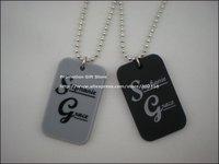 Stephanie Grace Dog Tag Pendant Necklace, Fashion Dog Tag, 2 colours, 50pcs/lot, free shipping