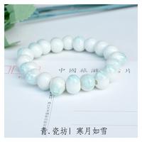 [Free Shipping] Ceramic accessories handmade accessories jewelry ceramic beads bracelet women cool brief elegant fresh summer