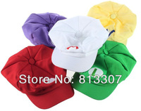 5 style Super Mario Bros Cotton  hat luigi Cap L Anime Cosplay Green Xmas Gift Free Shipping Yellow