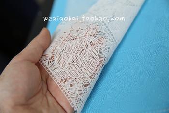 Min . ordem $20 --- subiu clássico fios de açúcar molde rendas açúcar açúcar lace silicone pad