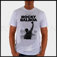 ROCKY BALBOA POSTER movie  T-shirt cotton Lycra top ROCK N ROLL
